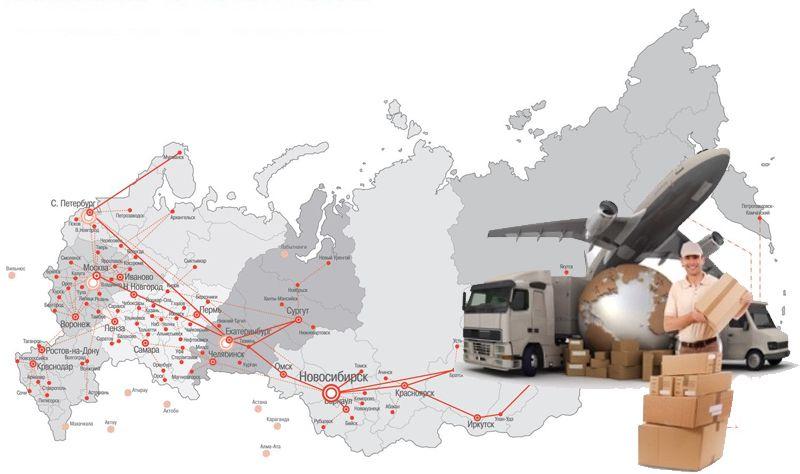 Доставка текстильных строп по России