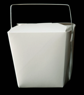 One and One Half Pint White Cardboard Take Out Box.PNG