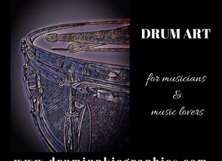 Drum Posters - Snare and Drum Sticks