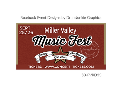 music fest custom event design for bands organzations and event planners to promote their event
