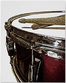 Snare and Sticks Deep Red.png