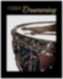 drummer poster with snare drum and drum sticks and caption i'd rather be drumming