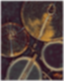 Drummer poster with drum kit includes snare drum, drum sticks, hi hat and cymbal