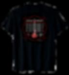Funny Drummer or Guitar Shirt has red guitar and Guitarist homework - Follow the Drummer!