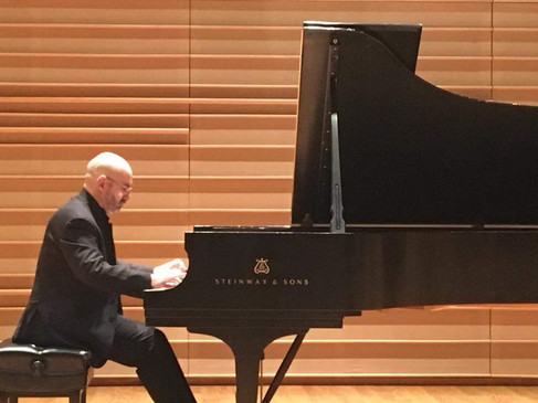 Solo Recital at the DiMenna Center, NYC