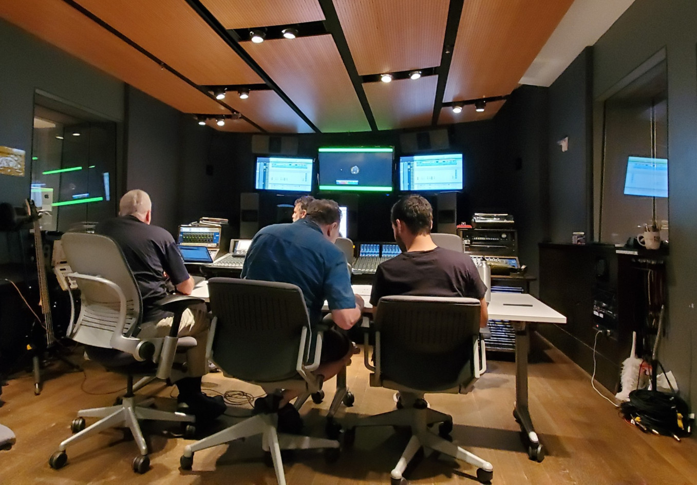 NYU recording session