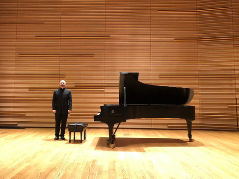 Solo recital at the DiMenna Center