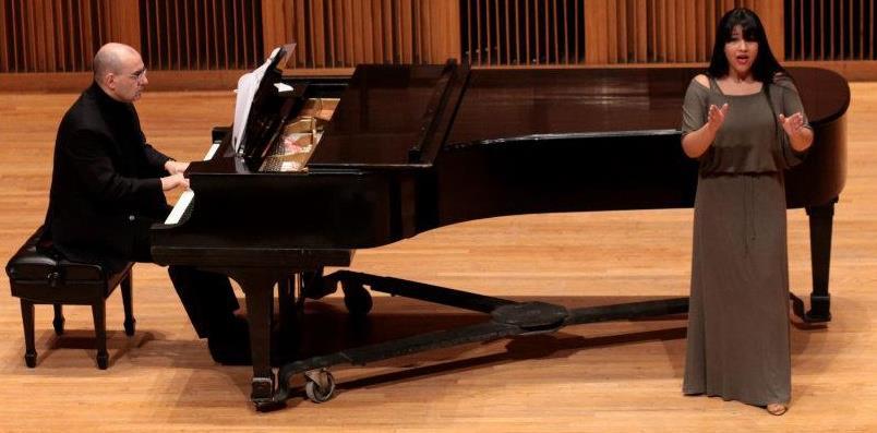Voice recital