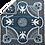 Thumbnail: Basotho Blanket - Kharetsa Aloe Black & White
