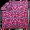 Thumbnail: Basotho Blanket - Seanamarena Fuscia & Chocolate