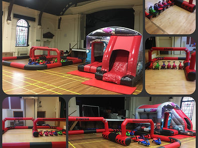 Didi Cars and Didi Race Track to Hire from BJ's Soft Play