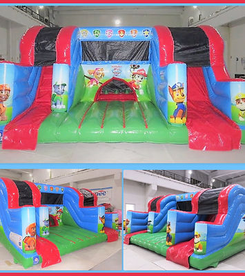 Paw Patrol Junior Activity Play Centre to hire from BJ's Bouncy Castles