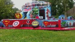 Super Hero Soft Play sets