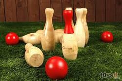 Skittles Bowling Game
