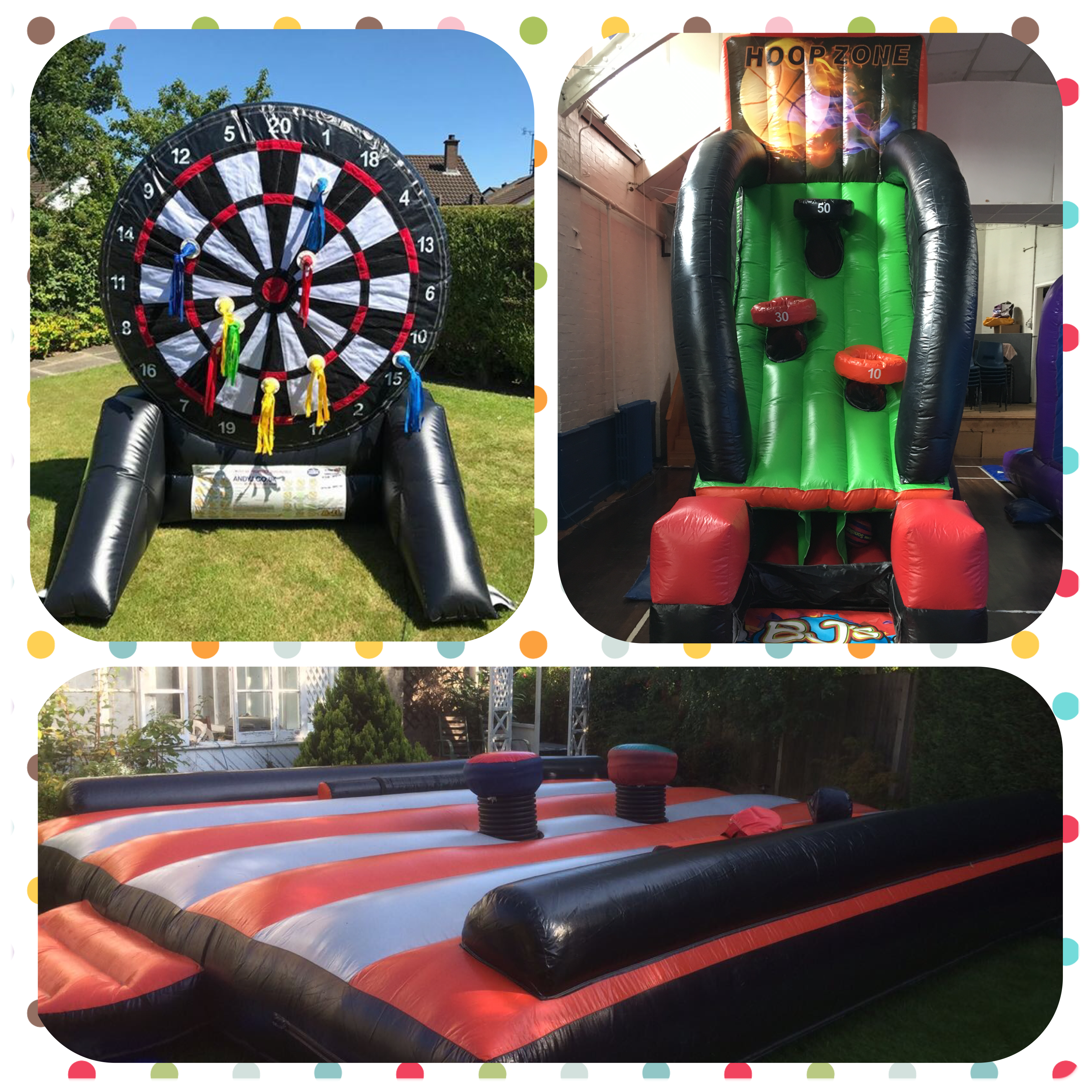 Inflatable hire packages -