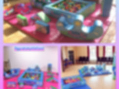 Peppa Pig soft play to hire