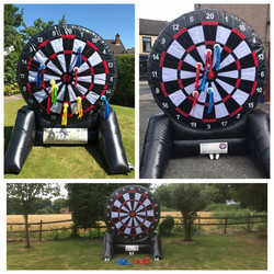 Giant soft darts game hire