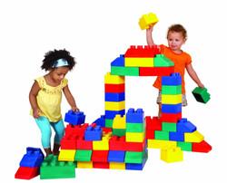 Giant lego soft play bricks