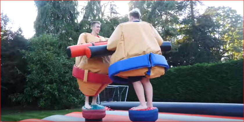 Sumo wrestling - The sidemen