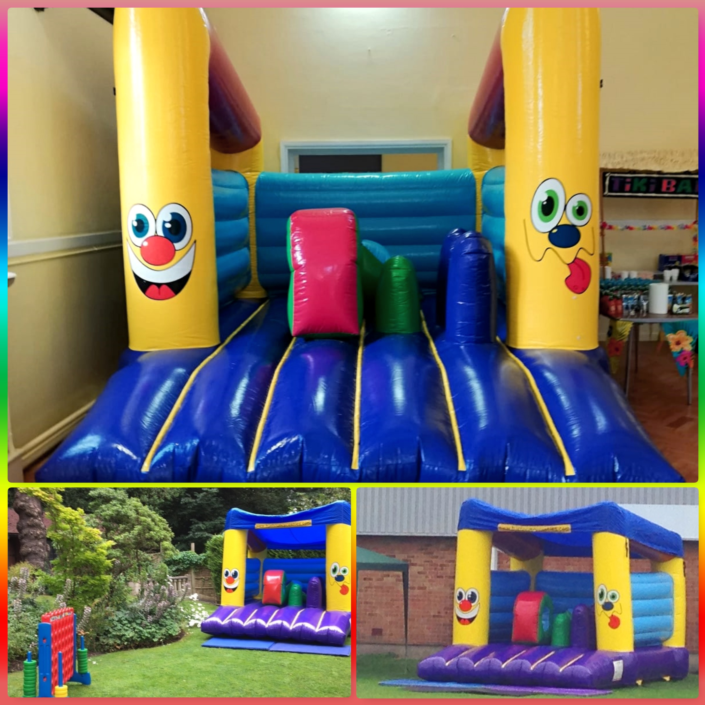 Mini Activity Bouncy Castle £85