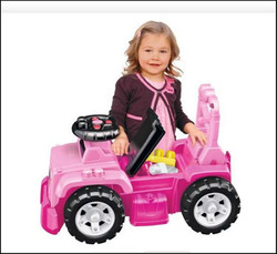 Pink Jeep ride on x2