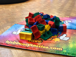 Giant Soft Lego Blocks For Hire
