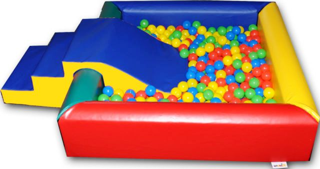 Ball Pond Step 'n' Slide
