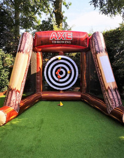 Axe Throwing Inflatable Game For Hire