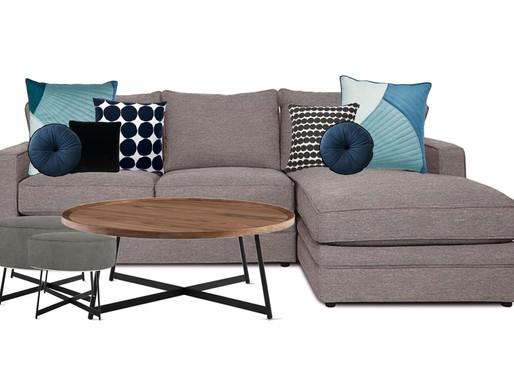Sofa Styling - cushion refresh