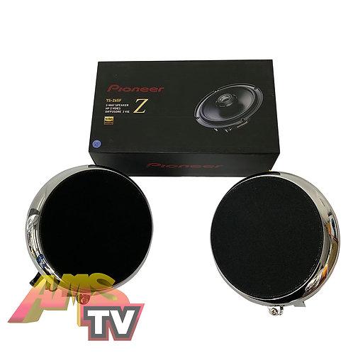"AMS Pods + Pioneer TS-Z65F  6-1/2"" 2-Way Car Speakers Set"