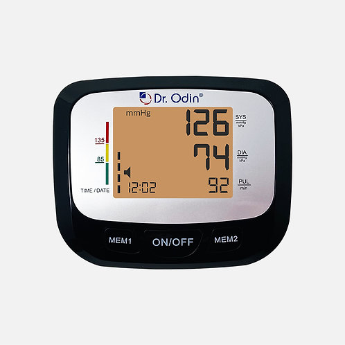 Fully Automatic BP Monitor Black Color