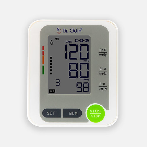 Digital BP Monitor White Color