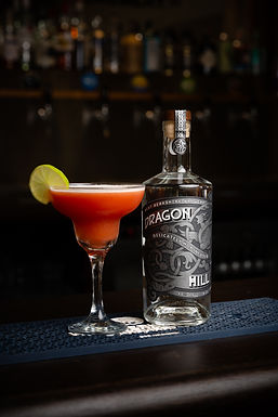 WBB Gin Cocktail Red Martini Dragon Hill