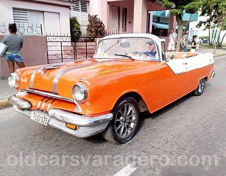 Classic car varadero pontiac