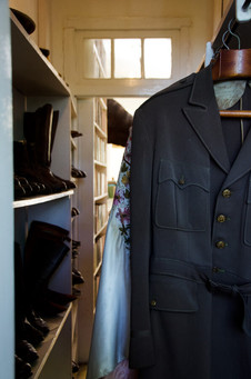 Look in Hemingway's clothes room