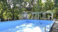 The pool of Finca Vigia