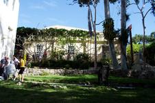 The terraces of Finca Vigia.