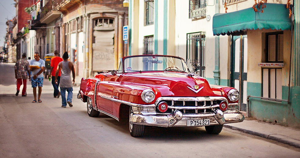 Classic car tours in havana