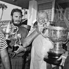 Fidel Castro and Ernest Hemingway
