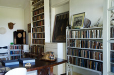 View into the Hemingways study