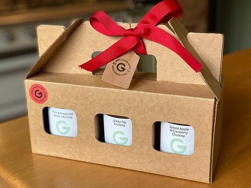Gift Box with 3 Chutneys