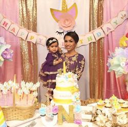 Unicorn Party for Aariya! Happy birthday
