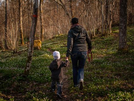 Motivera barn till vandring