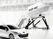 maquette de simulateur de conduite, model réduit de simulateur de conduite; driving simulator model; maquette de passerelle