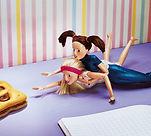 fake doll; poupée factice; modelage de poupée, sculpture de poupée