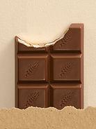 fausse tablette de chocolat, chocolat factice, moke up