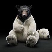 peluche sur commande, costume ours en peluche, teddybear costume