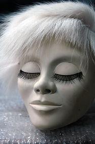 puppet head, tete de marionnette; tete en resine; resin head