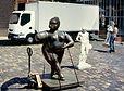 statue résine, botero, sculpture résine, bronze en resine, sculpteur resine