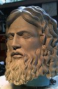 Zeus,, sculpture de zeus, modelage de zeus, sculpture de dieu grec, zeus sculpture, modelmaker, Paris